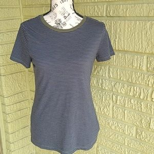 Mossimo Short Sleeve Stripes T-shirt
